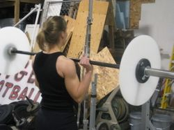 Amy push press